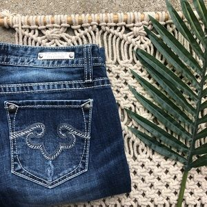 Rerock For Express Boot Jeans Size 6 S Short